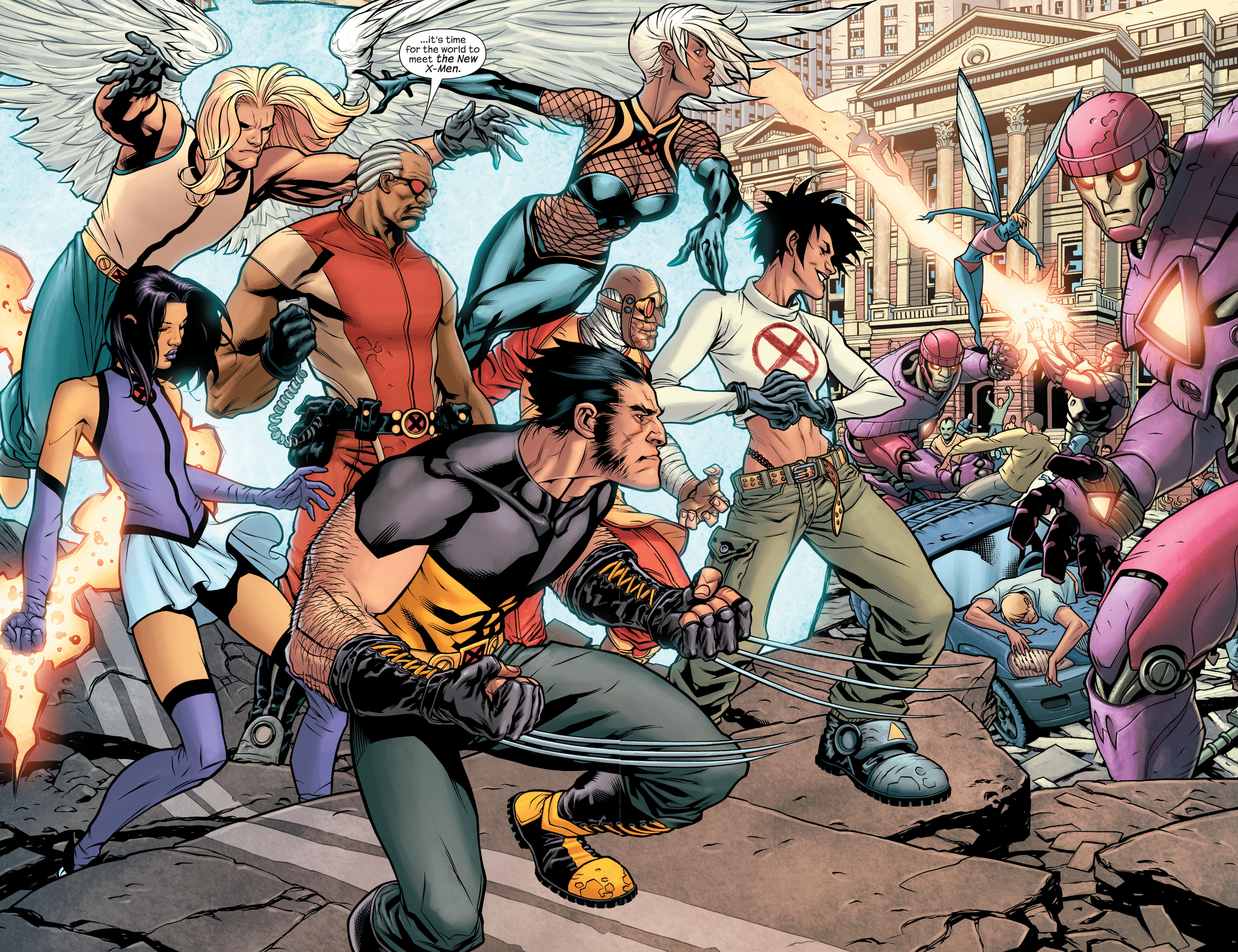 Read online Ultimate X-Men comic -  Issue #84 - 21