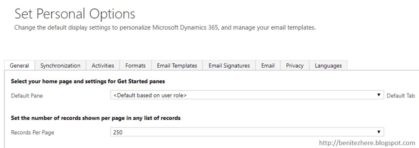 Dynamics 365 Customization and Configuration Tips ~ Benitez