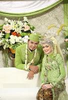 Model Gaun Pesta Pernikahan Muslimah Warna Hijau