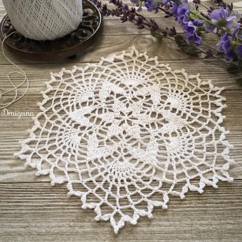 Starweave Doily - Free Pattern