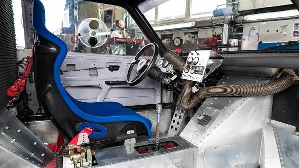 Volkswagen Golf II bimotor Pikes Peak