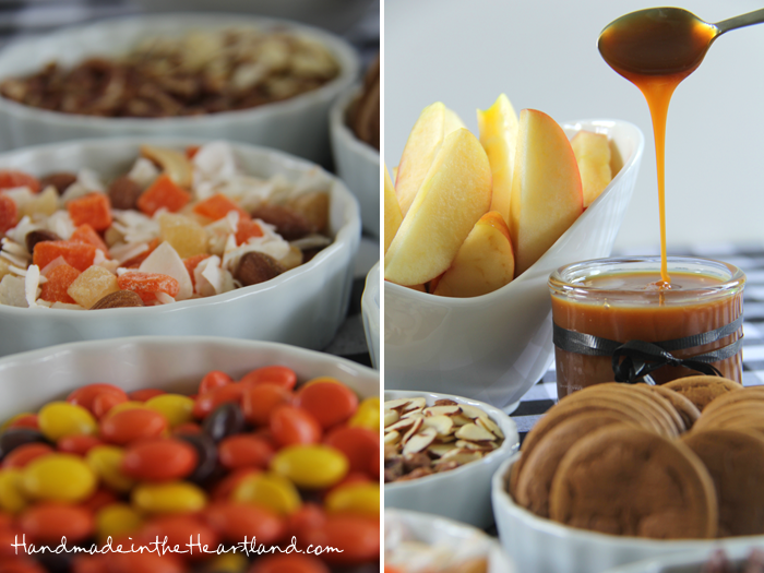 Caramel Apple Sundae Bar Toppings