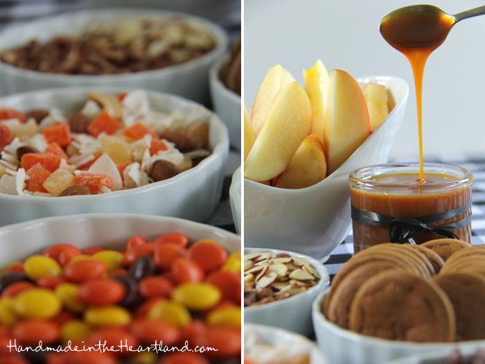 Caramel Apple Sundae Bar Toppings