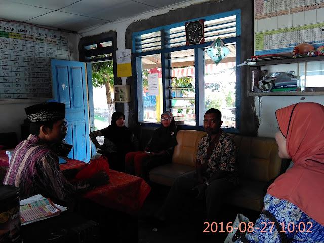Diskusi Ketua Badan Lazismu, Ir. H. M. Ali Maksum dengan para Guru