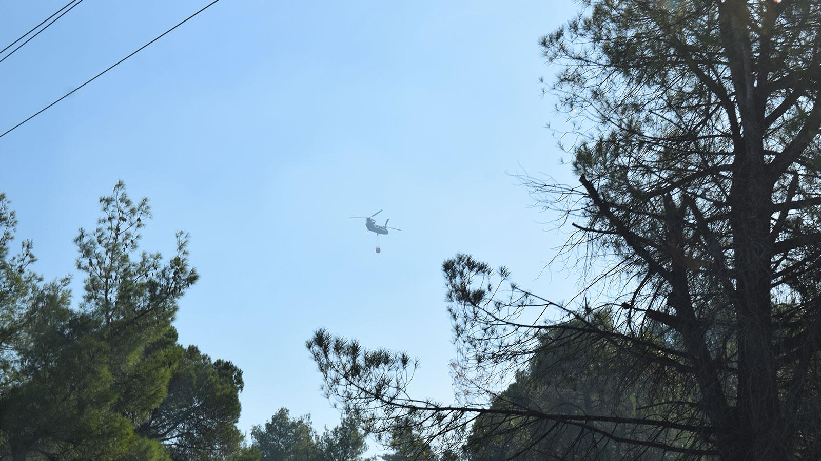 Πυρκαγιά στην Σιθωνία - Περιοδεία ΚΚΕ