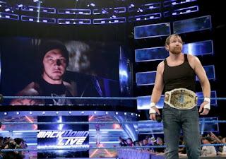 WWE Wrestlemania 33 Dean Ambrose vs. Baron Corbin