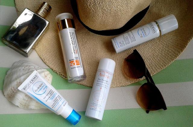 summer essentials, frezyderm, avene, bioderma, hydrabio perfecteur, hydrabio eau de soin, estee lauder, bronze goddess