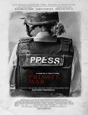 pelicula Una Guerra Privada (A War Private) (2018)