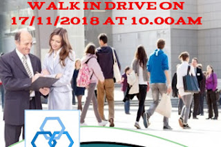 Walk in interview@Hy gro on 17 November start from 10 am