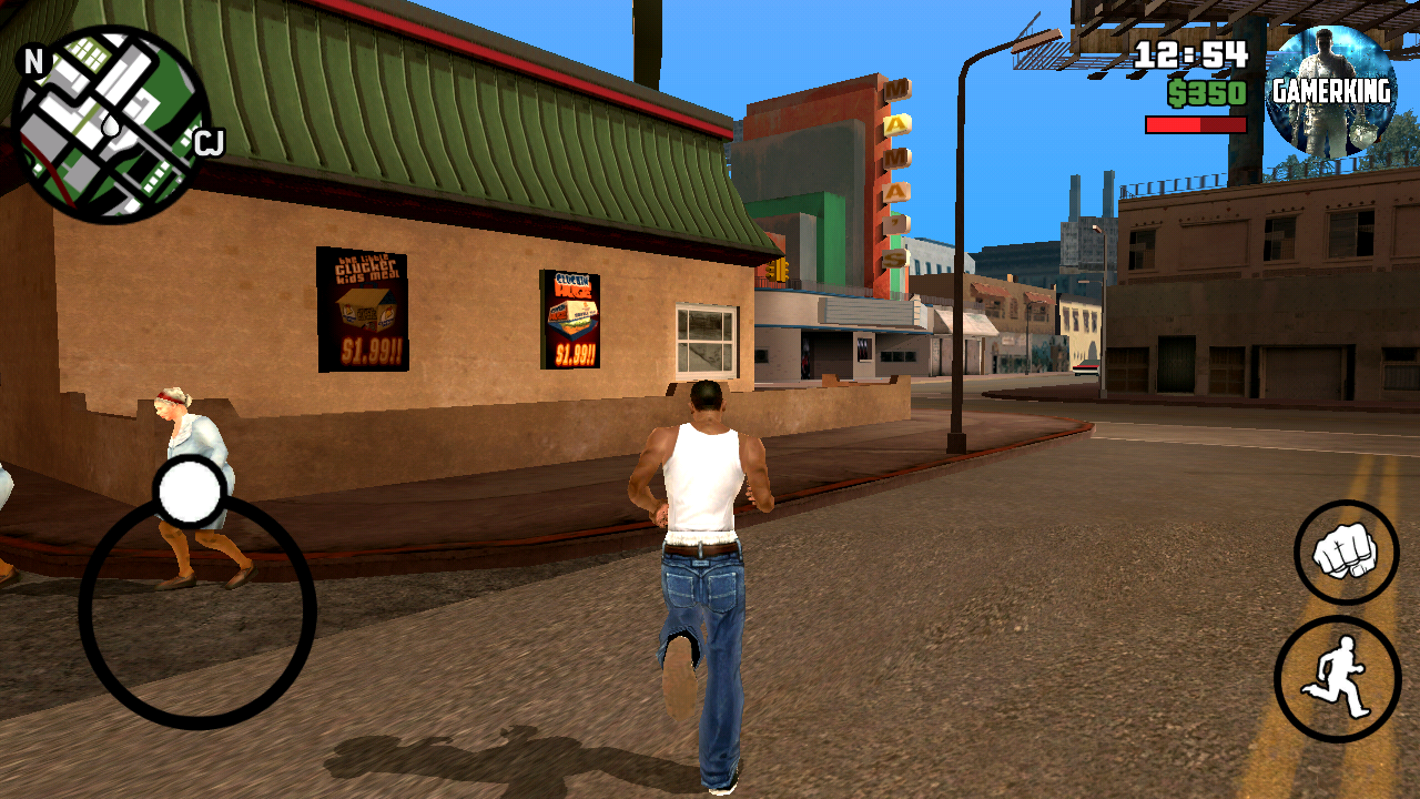 GTA SAN ANDREAS APK+DATA HIGHLY COMPRESSED IN (200MB) - GamerKing