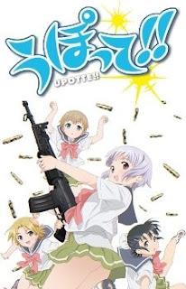 Download Upotte!! BD Subtitle Indonesia Batch Episode 1 – 10 + OVA