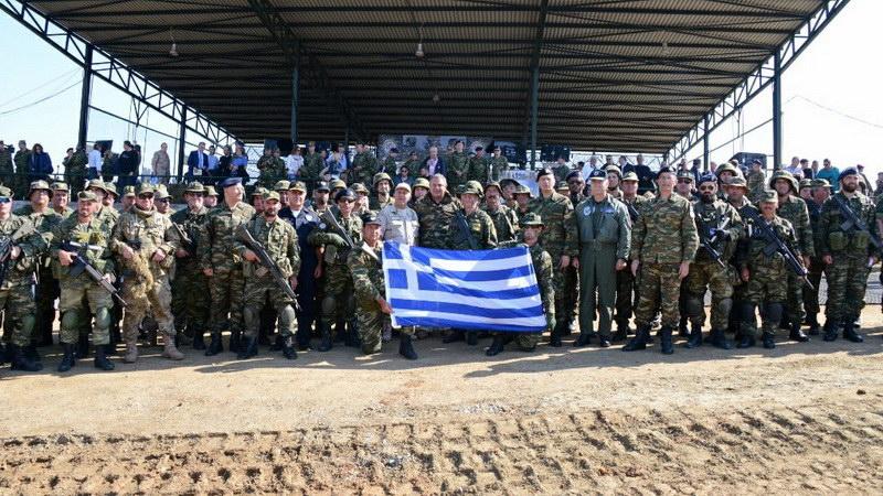 Ολοκληρώθηκε στον Έβρο η διακλαδική άσκηση των Ενόπλων Δυνάμεων «Παρμενίων 2017»