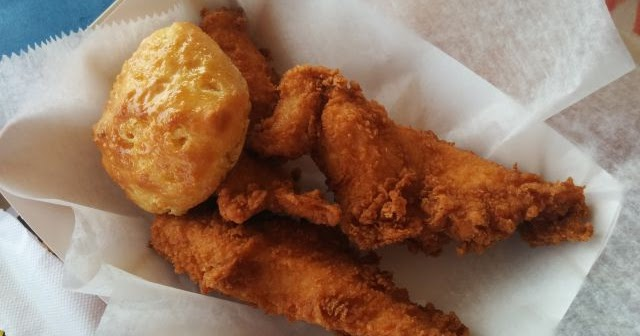 Review: Church's Chicken - Honey-Butter Biscuit Tenders   Brand Eating