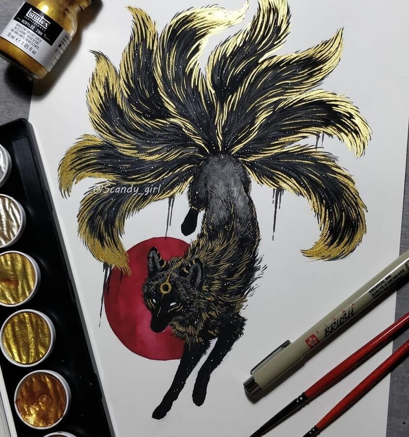 03-Nine-tailed -Fox-Jonna-Hyttinen-www-designstack-co