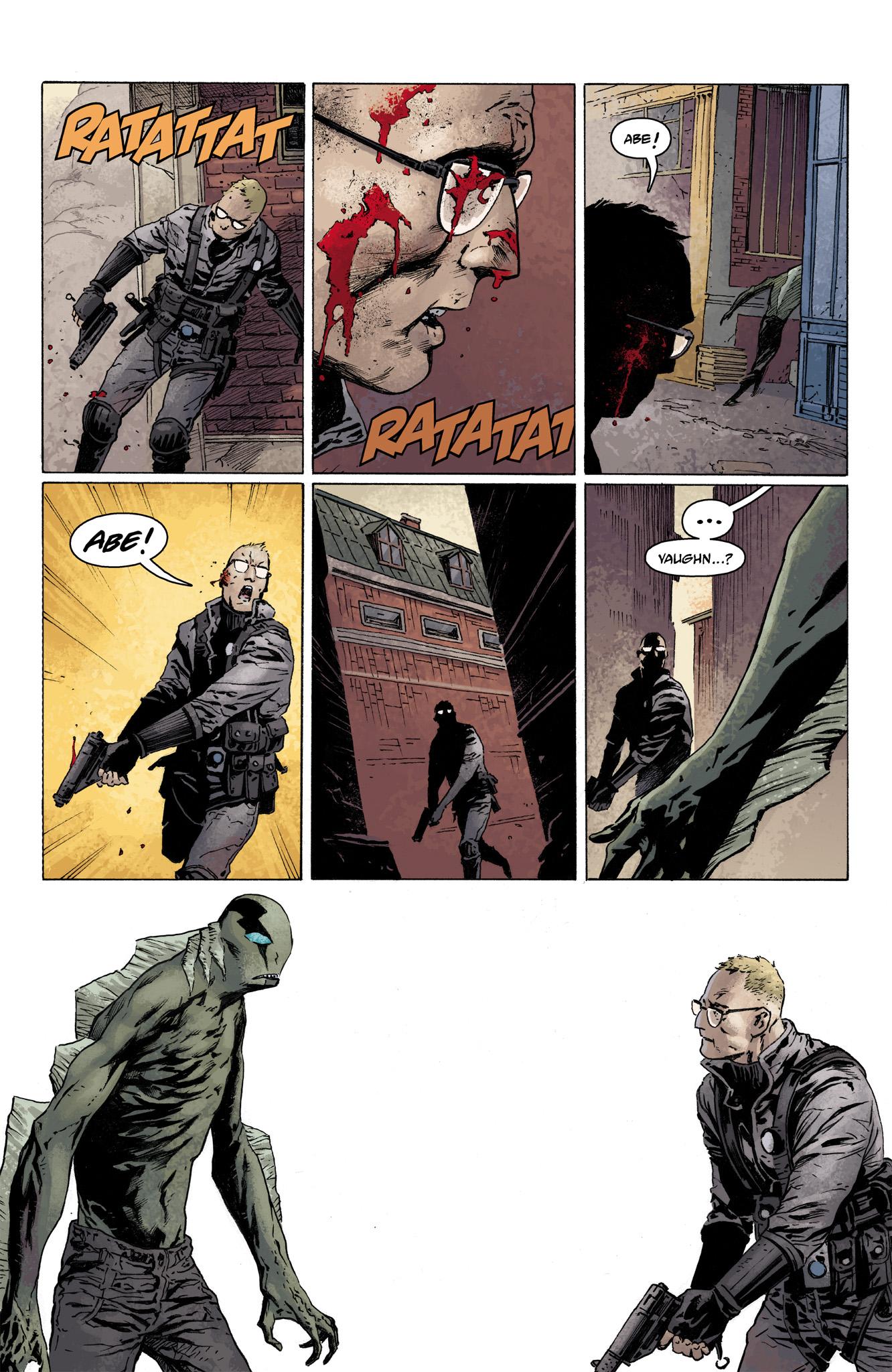 Read online Abe Sapien comic -  Issue #3 - 21