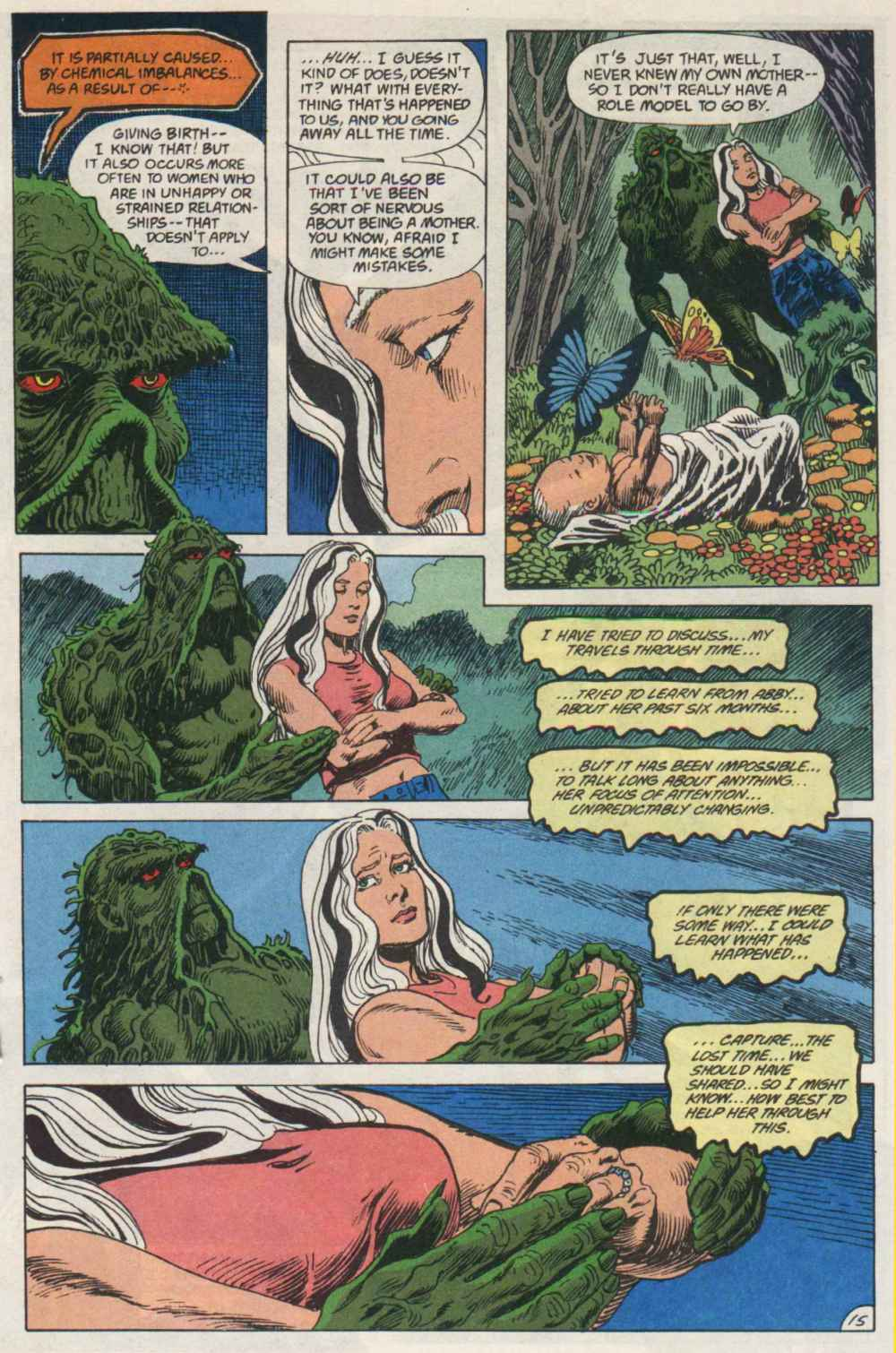 Swamp Thing (1982) Issue #91 #99 - English 15