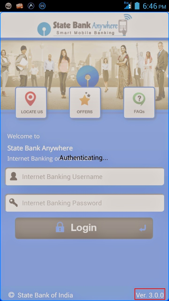 State Bank Anywhere Mobile Banking Login