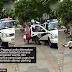 Pegawai polis dikecam netizen kerana mengasari wanita dan bayinya