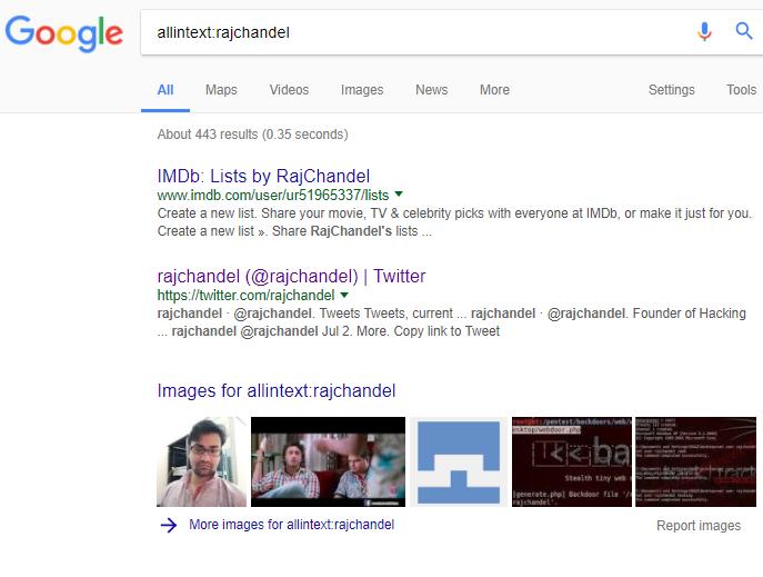 Beginner Guide to Google Dorks (Part 1)