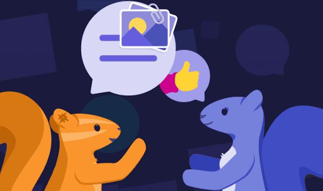 تطبيق Squirrel افضل برنامج دردشة للاندرويد والايفون