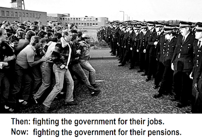 Government pensions grab impoverishes miners