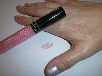IsaDora Gloss SMOOTH'n SHINE SPF 12 col. 31 Pink Nectar