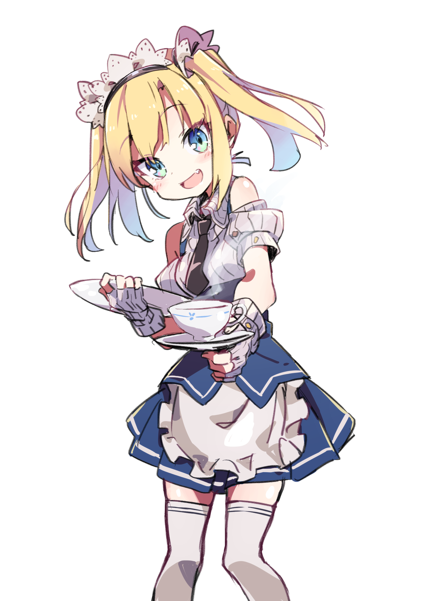 render Blonde Maid