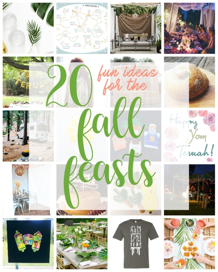 20 ideas to try for the Fall Feasts! DIYs, recipes, printables and more. | Land of Honey