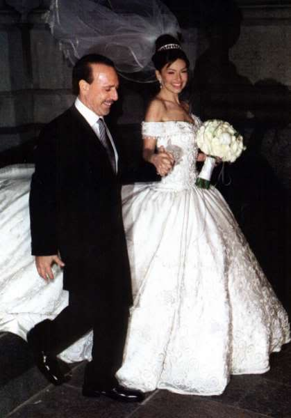 Mariah Carey Wedding Dress With Tommy Mottola