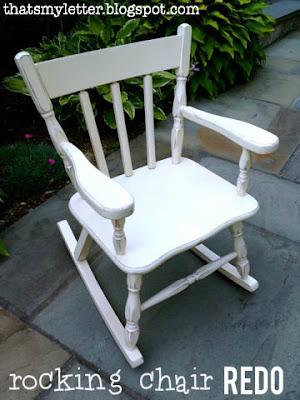 rocking chair redo
