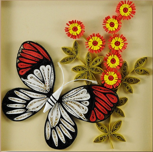Pictures Of Paper Quilling Art Craft Ideas And Art Projects