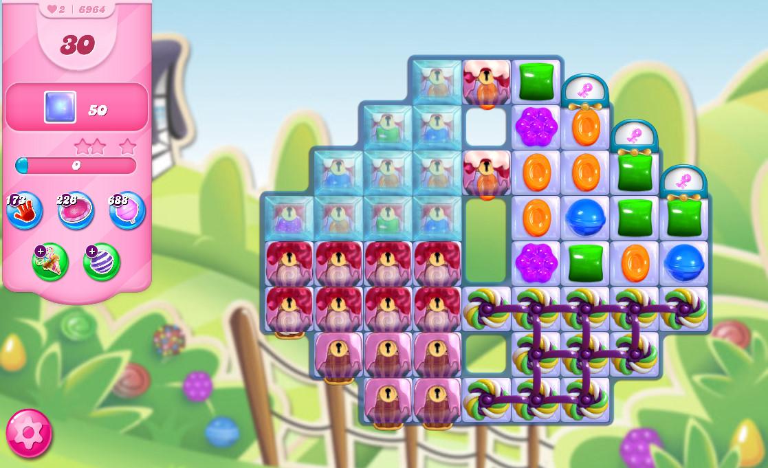 Candy Crush Saga level 6964
