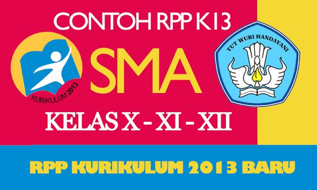 Kumpulan RPP Kurikulum 2013 SMA Terbaru Revisi Tahun 2016-2017