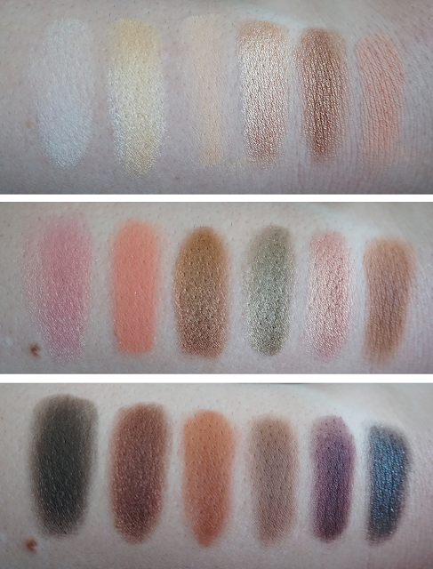 Swatches Sweet Peach Palette Too Faced