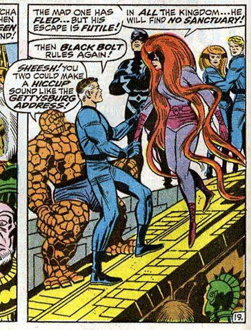 Fanatstic Four 83 Medusa Reed Richards