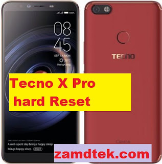 Tecno X Pro hard reset. Pattern removal and frp bypass