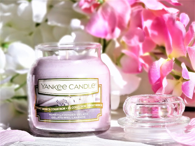 Avis Yankee Candle Sunday Brunch Honey Lavender Gelato  | Gelato Miel Lavande