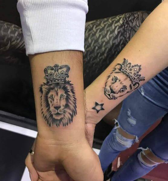 100+ Realistic Lion Tattoos For Men (2019) Tribal Traditional ...