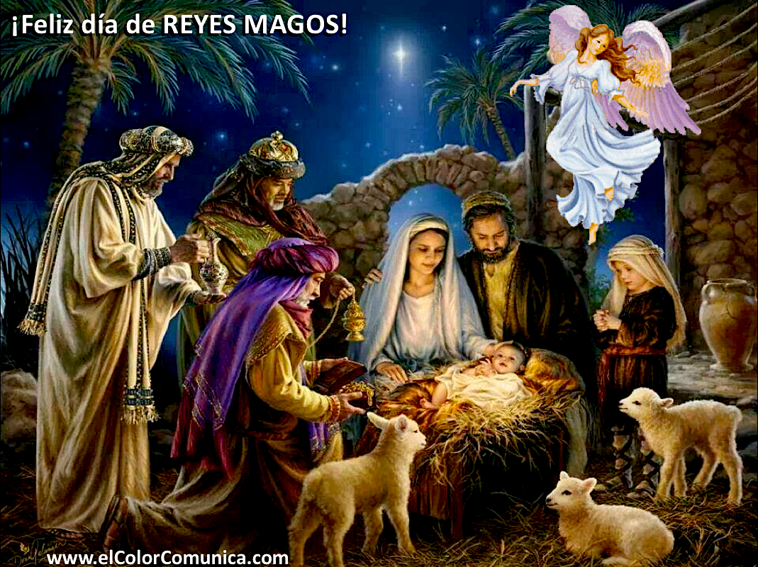 Ver Fotos De Los Reyes Magos De Oriente.El Color Comunica Tres Magos De Oriente 6 De Enero Dia De