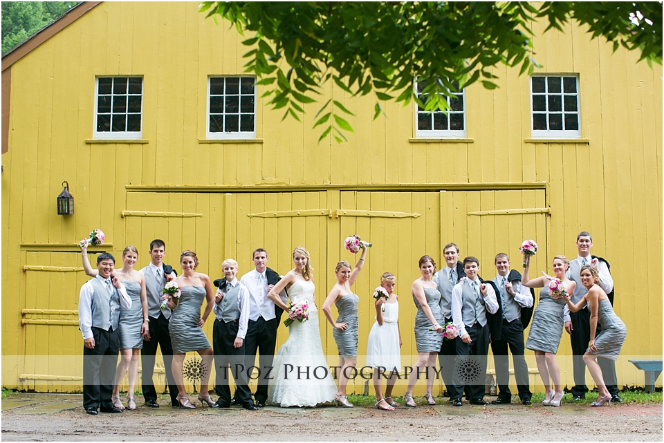Yellow Barn at Landis Valley Museum Wedding