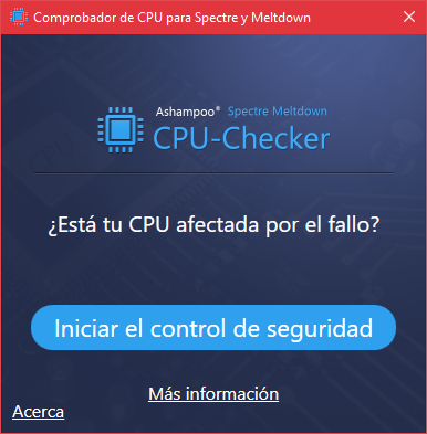 Descubre en segundos si tu PC es vulnerable a Spectre y Meltdown
