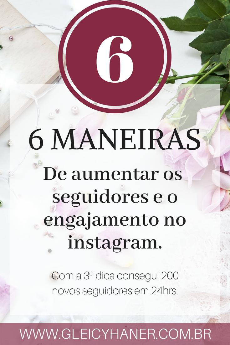 6 maneiras de ganhar seguidores no instagram