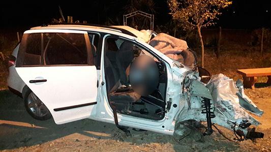 Choque fatal en el cruce: murió un automovilista de Villa María