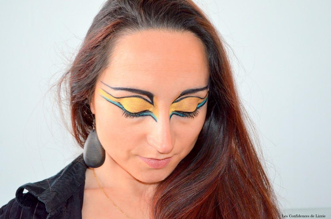 maquillage creatif - maquillage disney - maquillage disney pour adultes - maquillage princesse - Maquillage ethnique