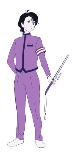 Hiroshi Kamiya como el Líder del Festival Escolar