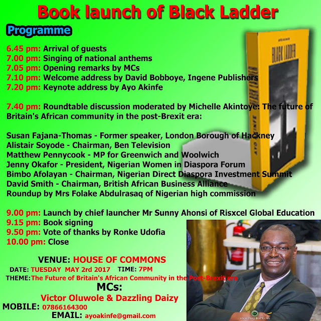 Black Ladder book launch