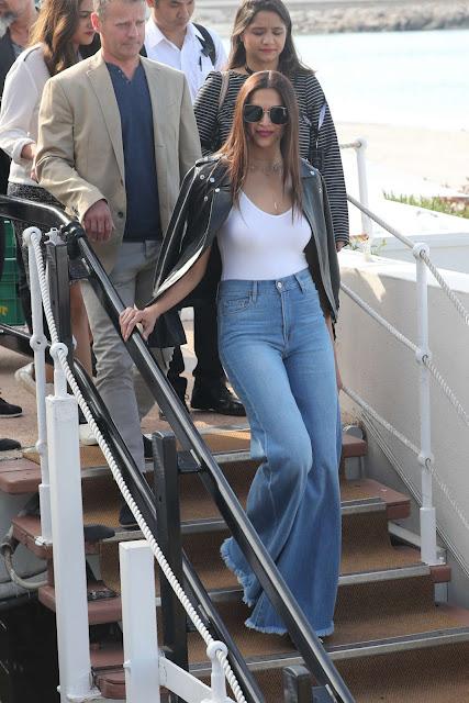 Sonam Kapoor at Hotel Martinez in Cannes