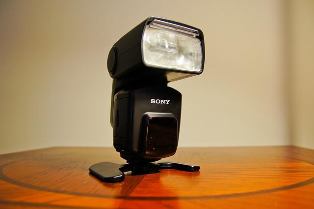 kamera flash