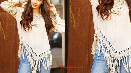 trend fringe bohochic fashion