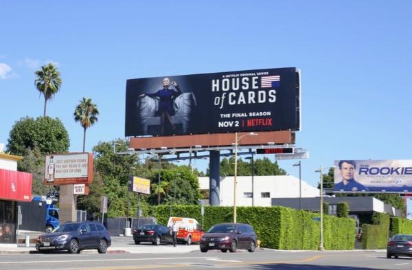 House of Cards season 6 billboard